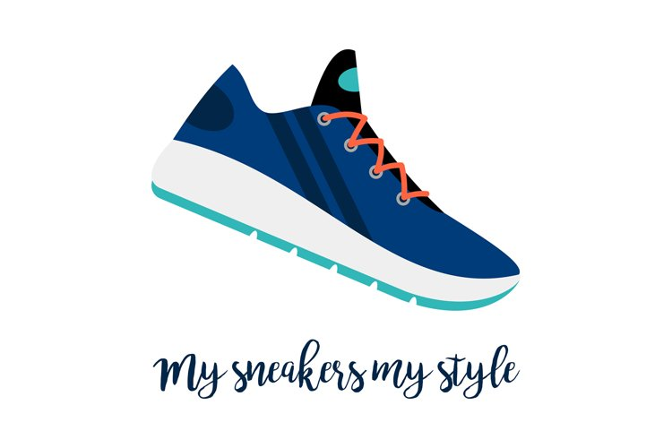 My sneakers my style shoe icon example image 1