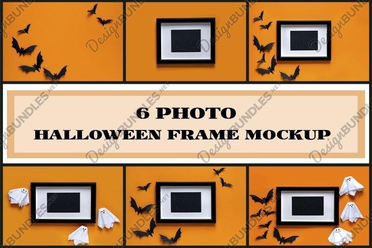 Halloween frame mockup example image 1