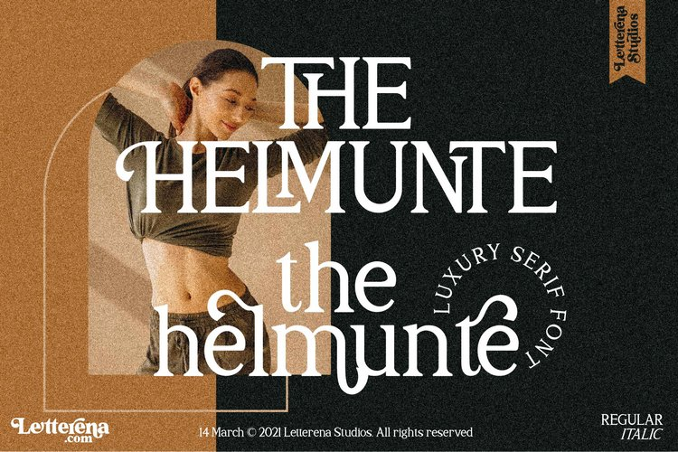 THE HELMUNTE - Luxury Serif Font example image 1