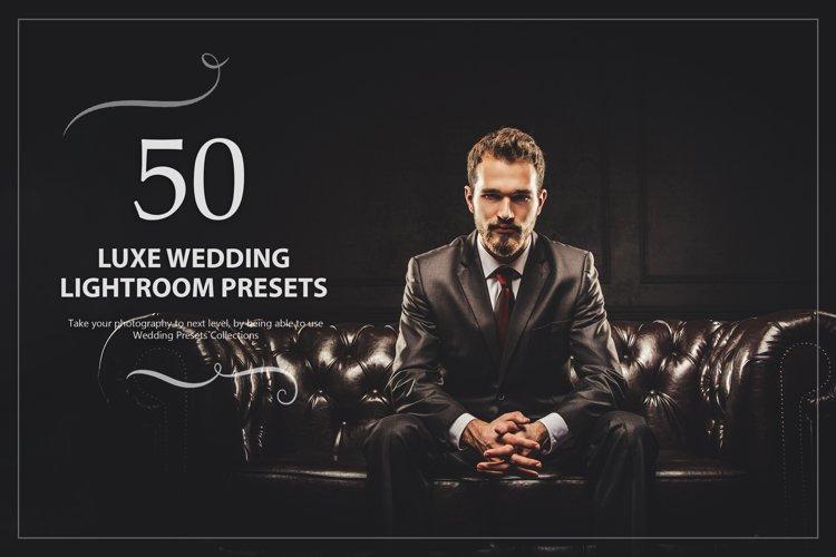 50 Luxe Wedding Lightroom Presets example image 1