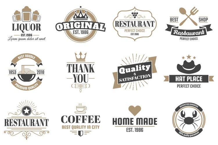 60 Vintage Logo Set example 4