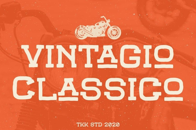Vintagio Classico - Vintage Font example image 1