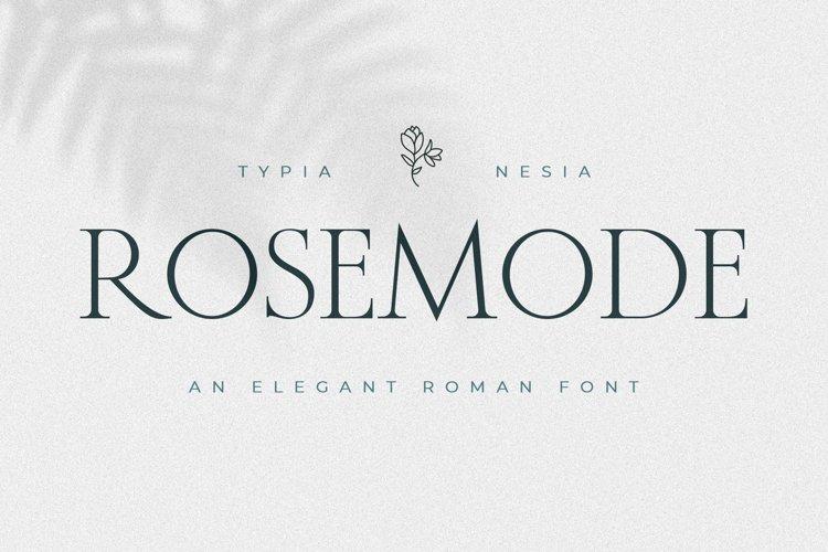 Rosemode example image 1