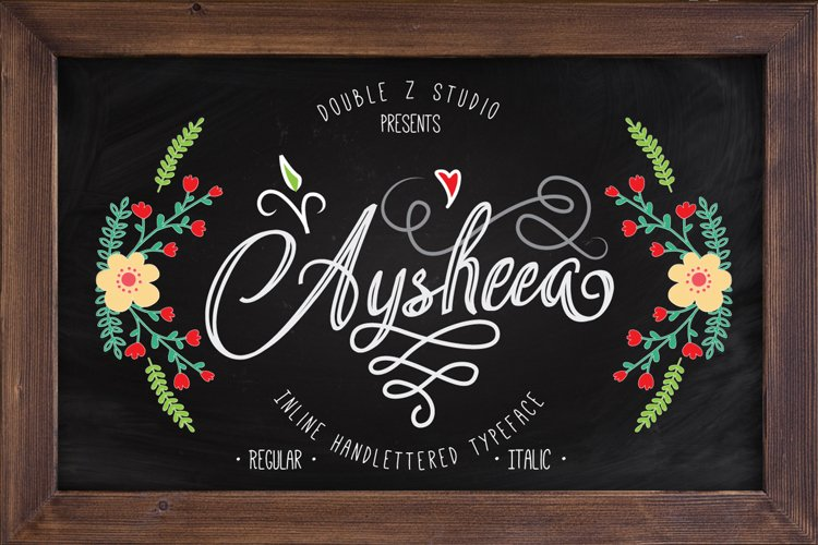 Aysheea - Inline Script example image 1