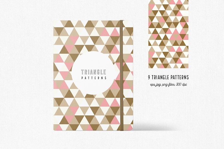 Triangle Pattern Collection example image 1