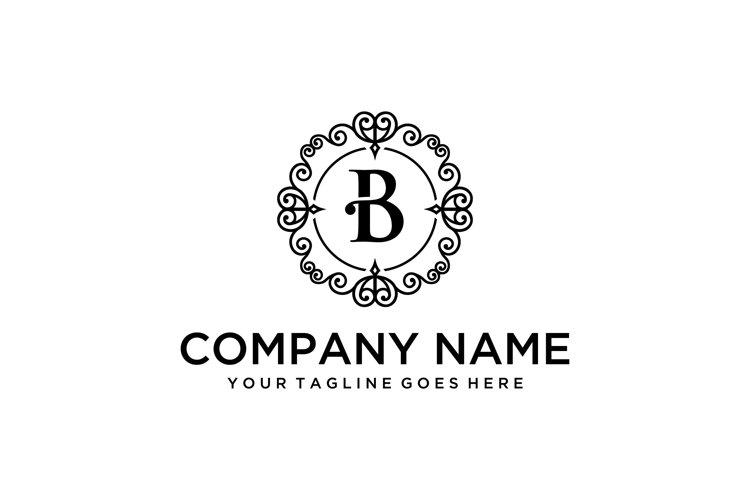 luxury B sign example image 1