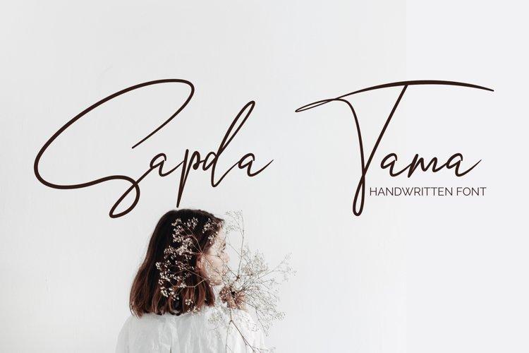 Sapda Tama - Script example image 1