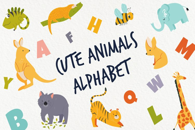 Alphabet With Cute Animals for Little Ones example image 1