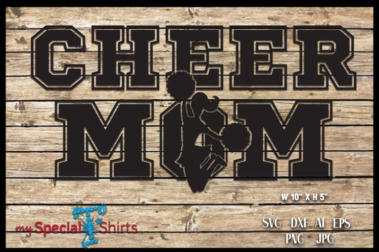 Cheer Mom SVG, DFX, EPS, JPG, PNG