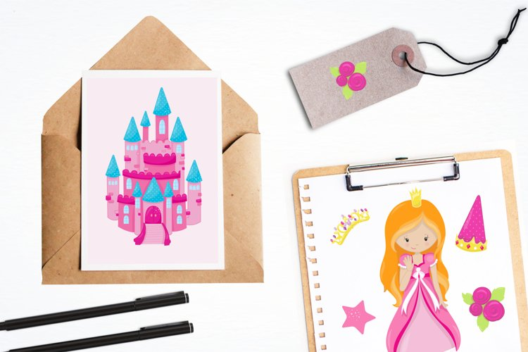 Fairytale Princess  graphics and illustrations - Free Design of The Week Design2