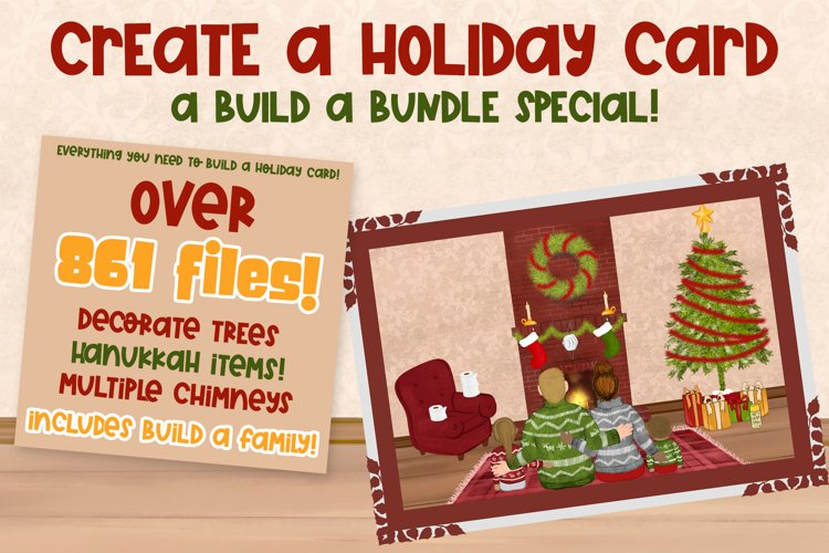 Build a Holiday Card Bundle| Build a Bundle Special example image 1
