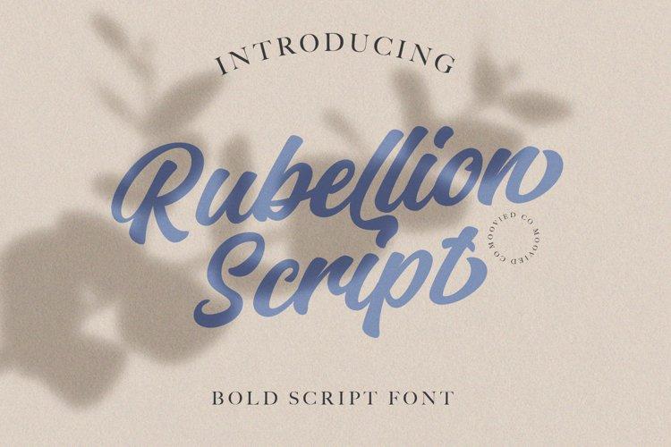 Rubellion Scrpint example image 1