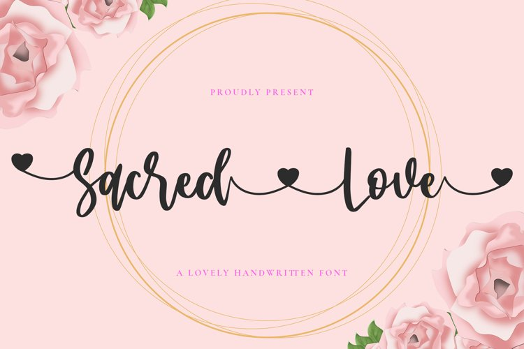 Sacred Love Font example image 1