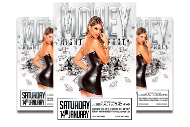 Money Party - Flyer template #4 example image 1