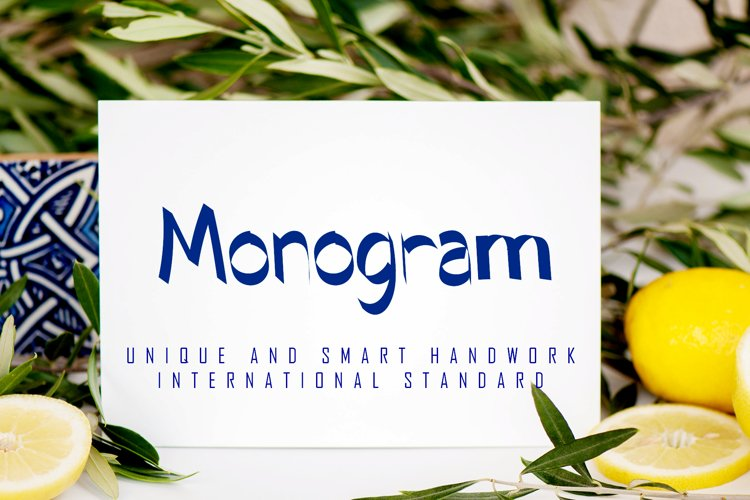 Monogram example image 1