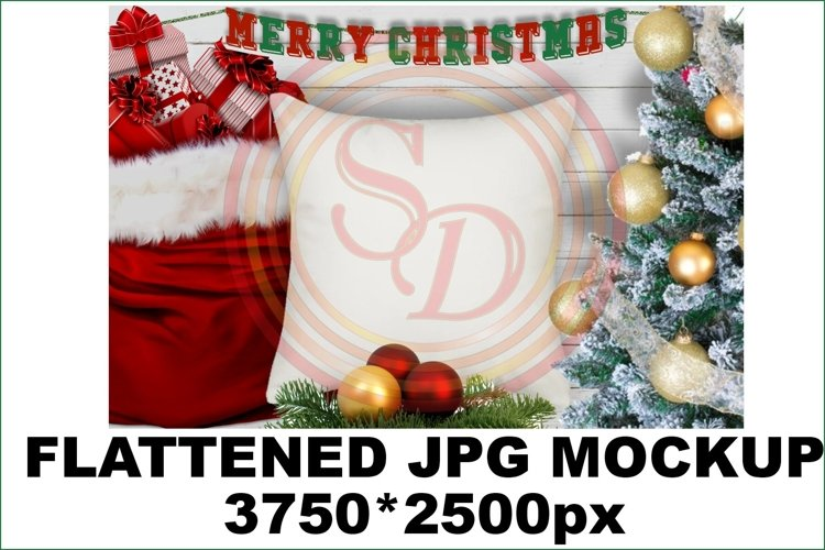 Christmas SDPA 1pilliow Mockup example image 1
