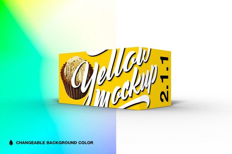 2.1.1 Simple 3D Box Mockup PSD