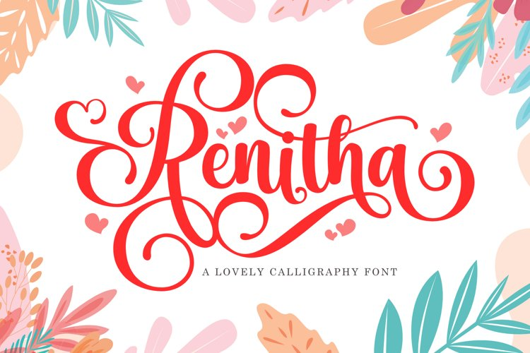 Renitha Script example image 1