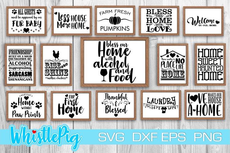 Download Farmhouse Svg Sign Bundle Farmhouse Bundle Housewarming Svg 1160267 Cut Files Design Bundles