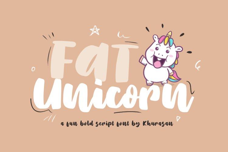 Fat Unicorn example image 1