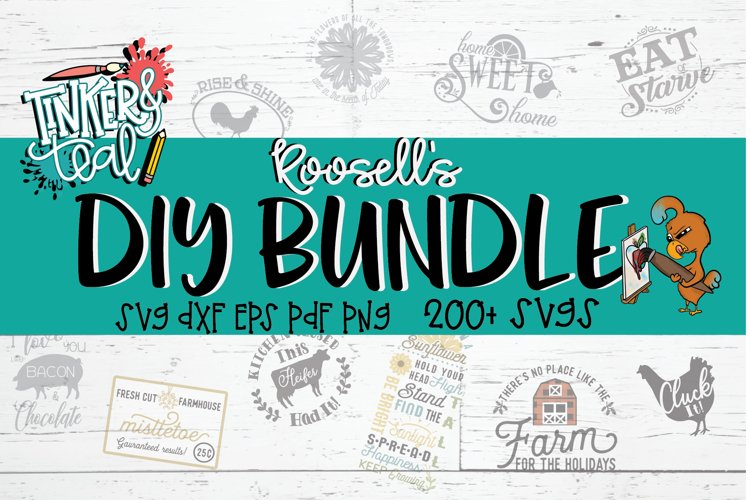 Roosell's DIY SVG Bundle example image 1
