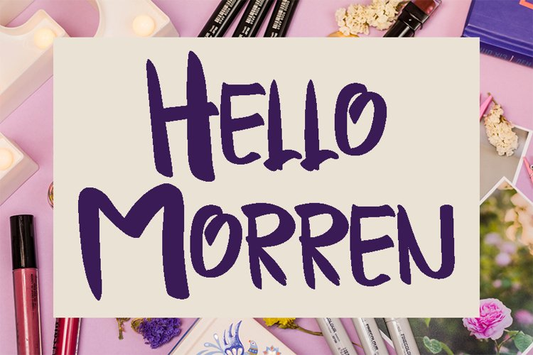 Hello Morren example image 1