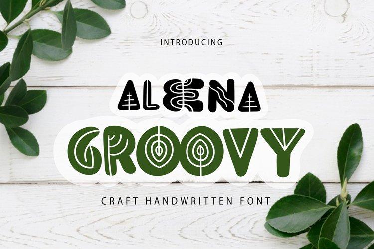 Aleena Groovy | Craft Handwritten Font