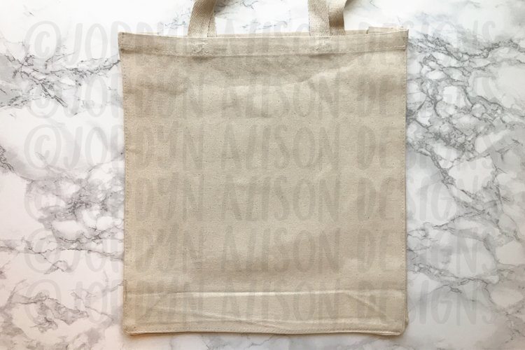 Tan Tote Bag Mockup example 1