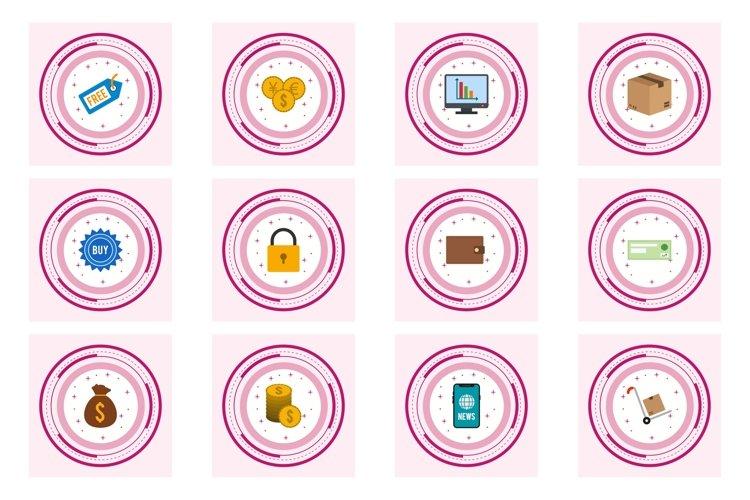 Set Of E-Commerce Icons example image 1