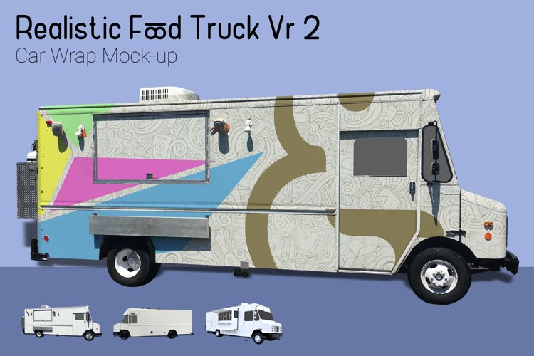 Food Truck Mock-Up Vr2