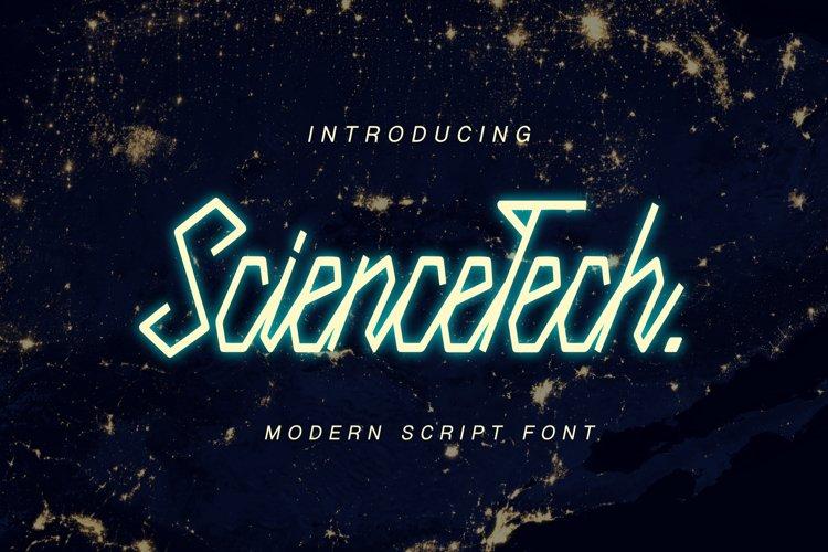 Science Tech Script example image 1