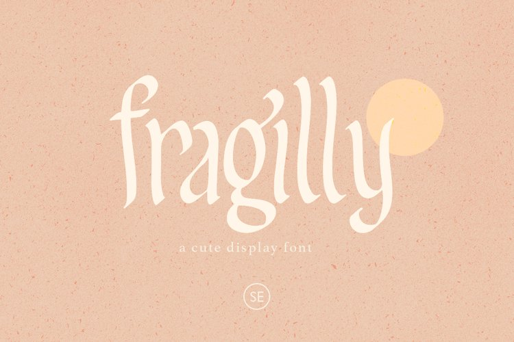 Fragilly - A Cute Font example image 1