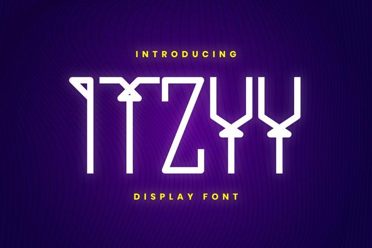 ITZYY Font example image 1