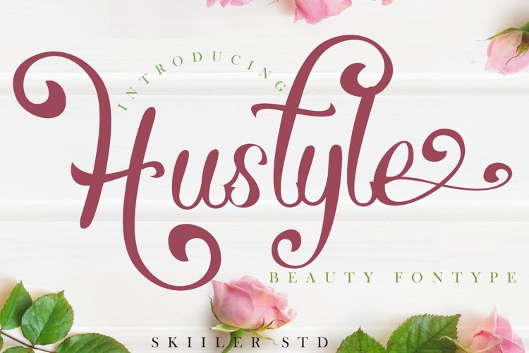 Hustyle Beauty Font example image 1