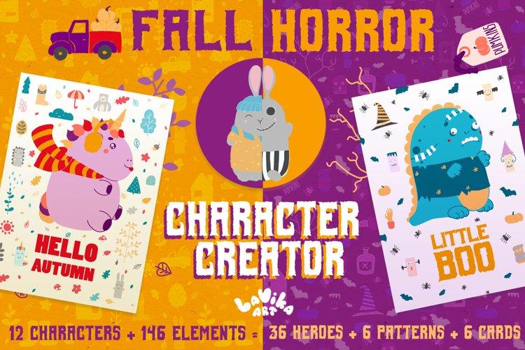 Character creator - Fall holidays example image 1