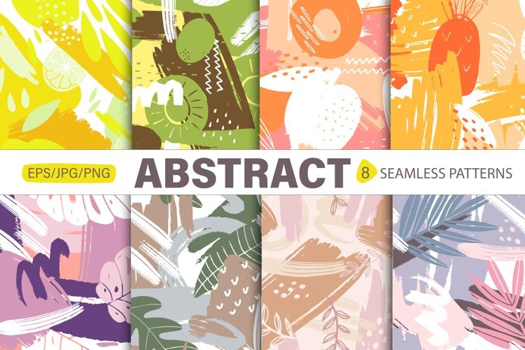 Botany vector. Abstract Shapes. Abstract modern pattern example image 1
