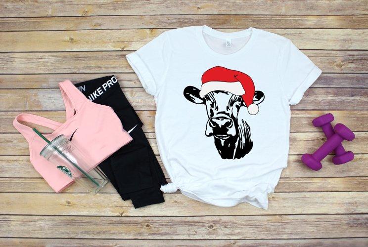 Cow Christmas Hat cowboy Farm heifer hat 1571S