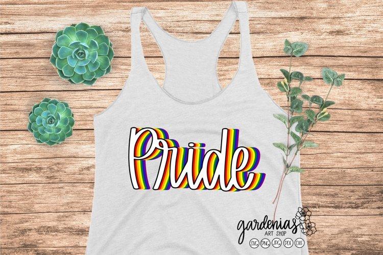 Pride LGBT Rainbow   Pride Clip Art   SVG Cut File