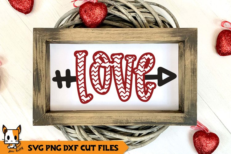 Valentine's Day SVG | Love example image 1