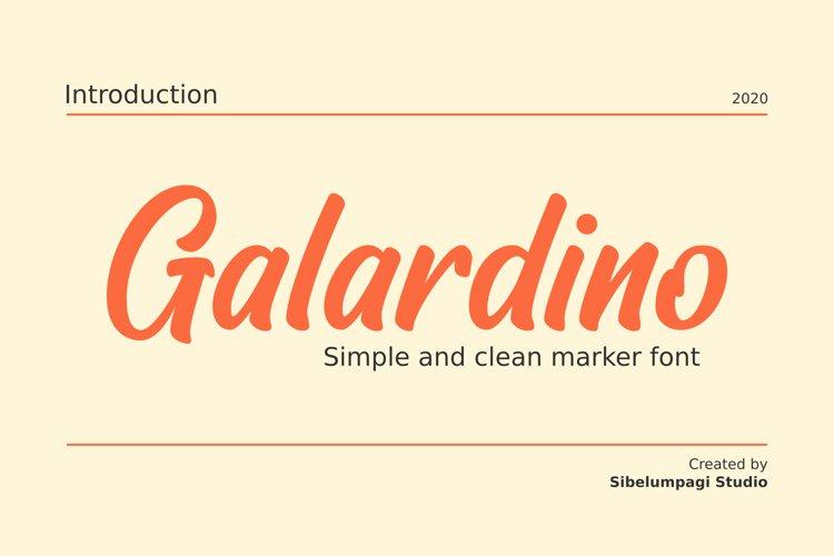 Galardino example image 1