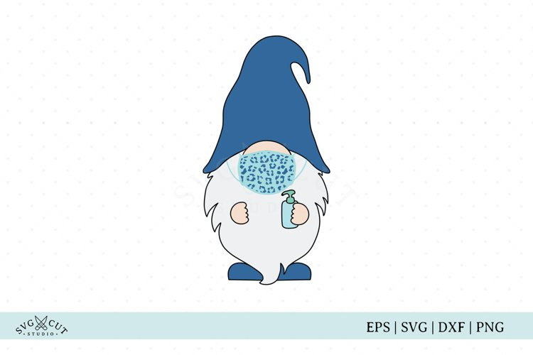 Gnome SVG, Cheetah Mask Gnome SVG file