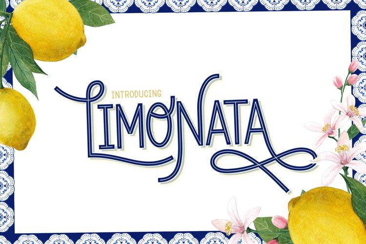 Limonata Font example image 1