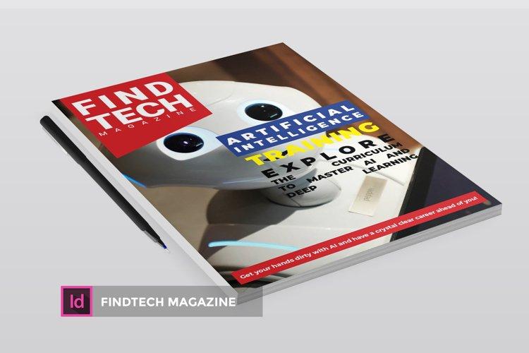 Findtech | Magazine example image 1