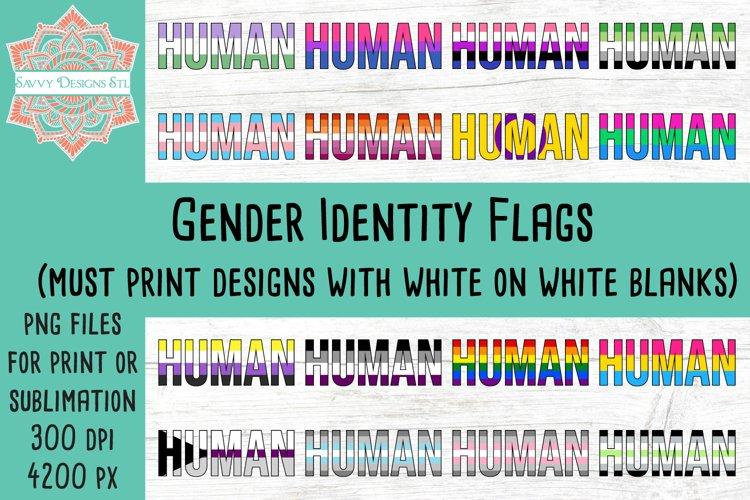 Gender Identity Flag Sublimation Bundle
