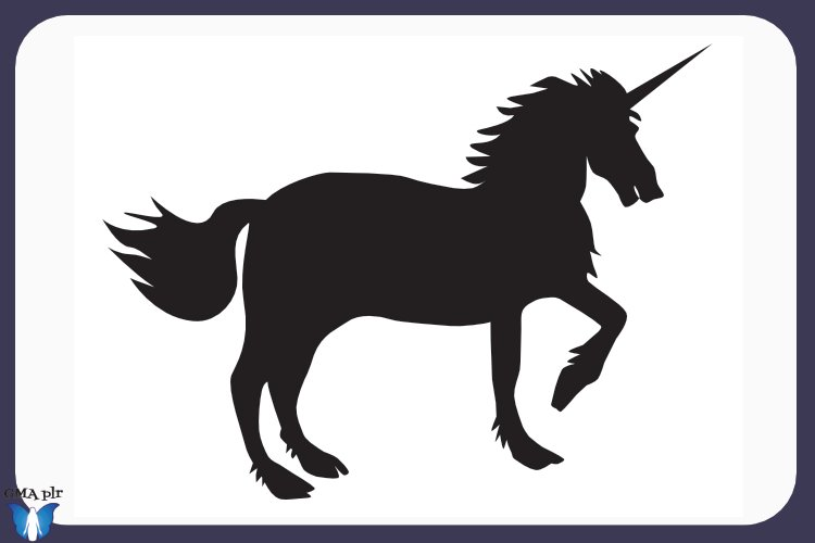 Unicorn Silhouette- Graphics example image 1