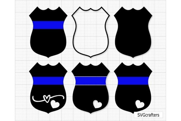 Police Badge SVG, Back the blue svg, police svg,