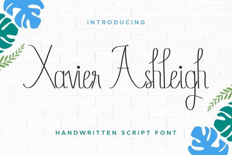Xavier Ashleigh example image 1