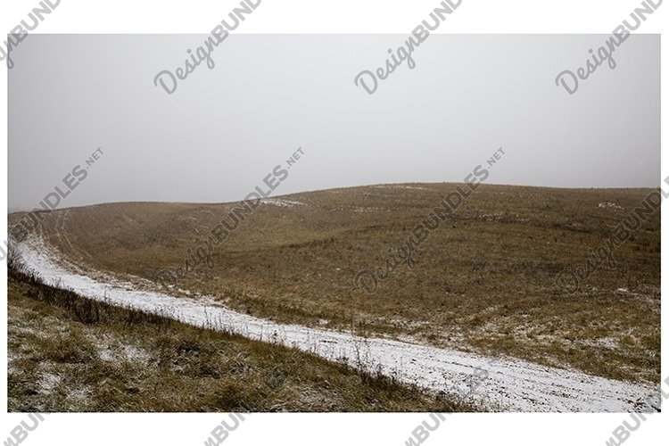 snow in the field example image 1