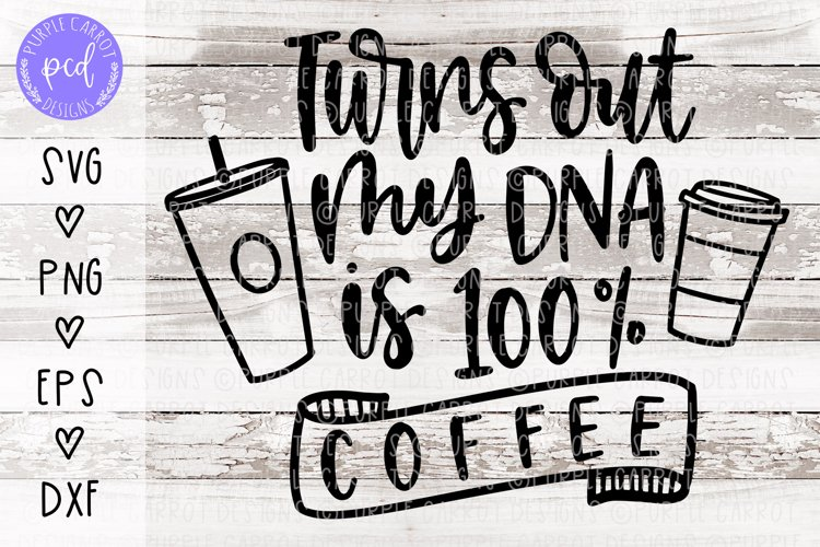 Coffee DNA Cut File