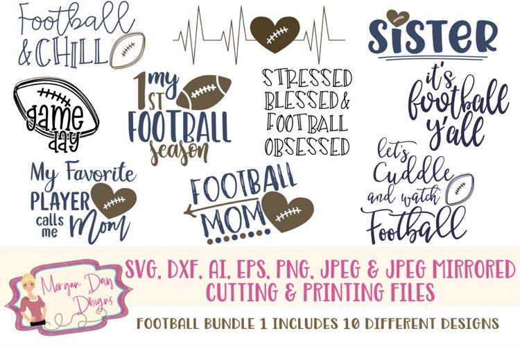 Football Bundle 1 Svg Dxf Ai Eps Png Jpeg 210922 Cut Files Design Bundles